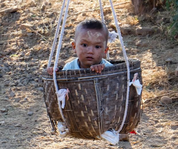 viaggio in Birmania, bambino