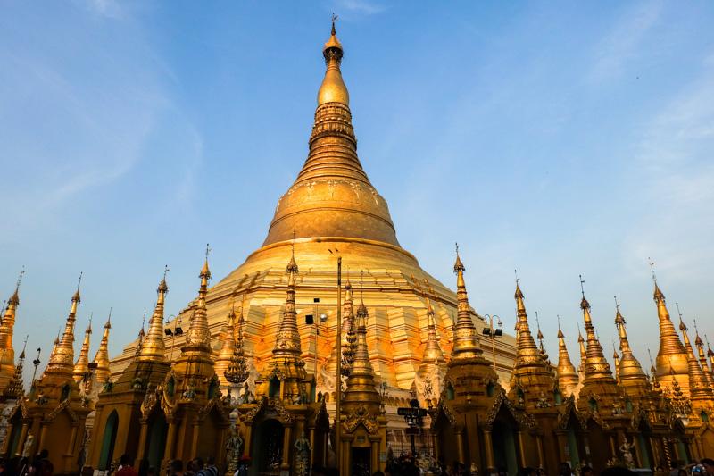 Viaggio Shwedagon pagoda