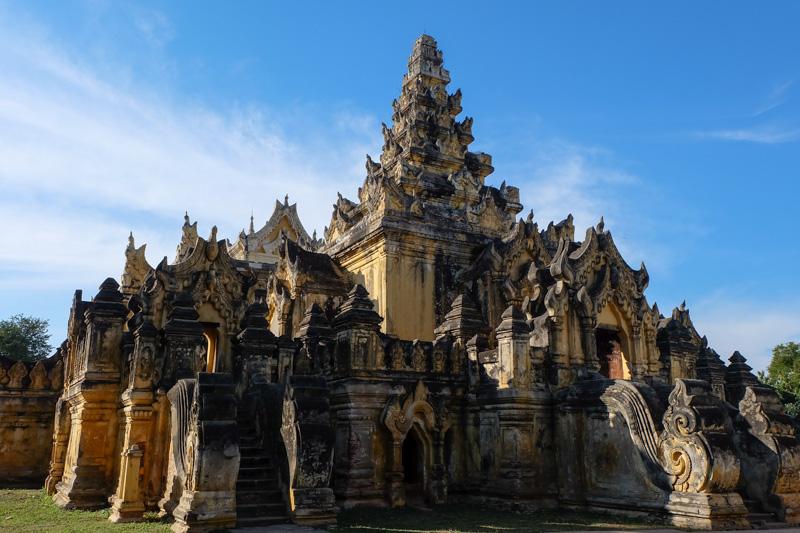 viaggio in Birmania, tempio