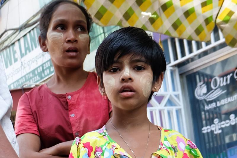 viaggio in Birmania, ragazza