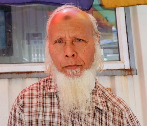 viaggio in Birmania, barba