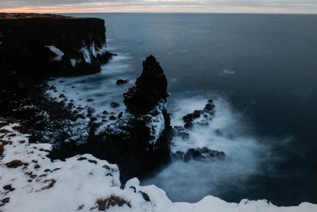 viaggio in Islanda mare e neve