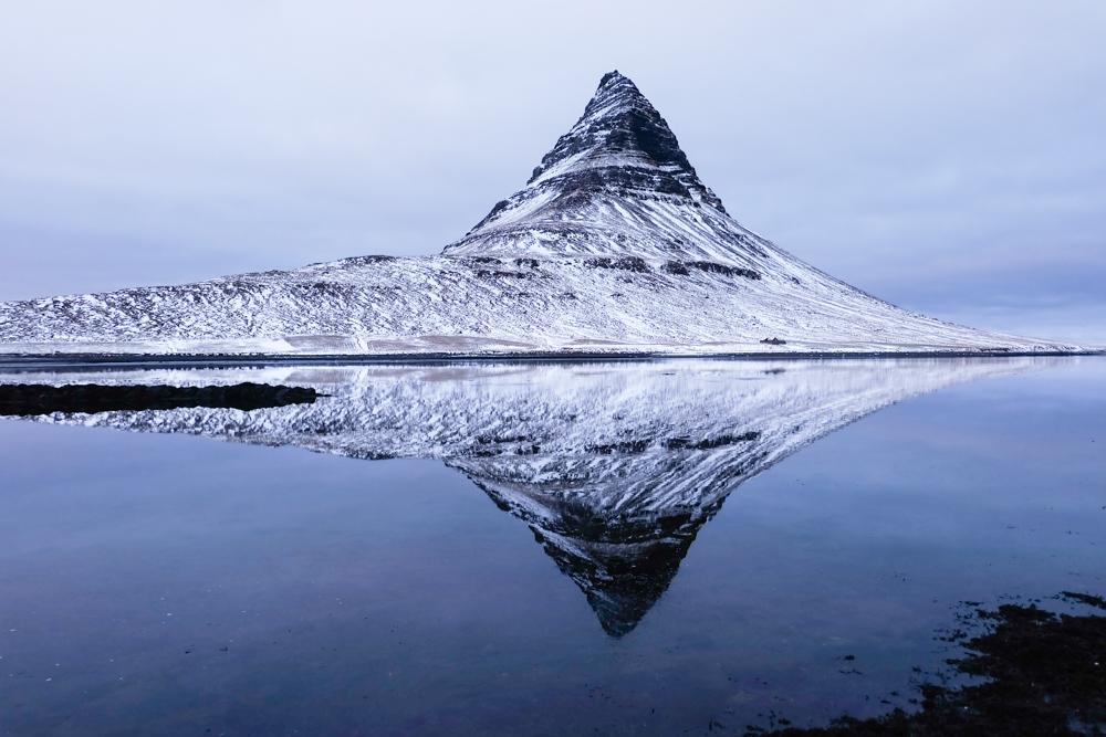 viaggio in Islanda riflessi invernali