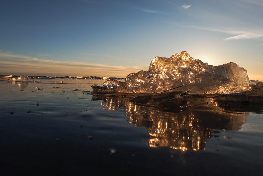 viaggio in Islanda mare ghiacciato