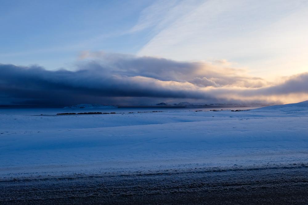 viaggio in Islanda nuvole