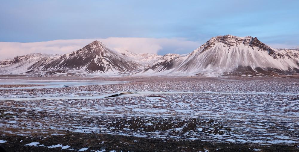 viaggio in Islanda bianco e nero