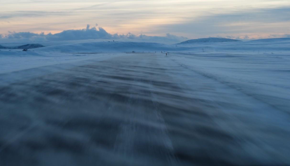 viaggio in Islanda bufera neve
