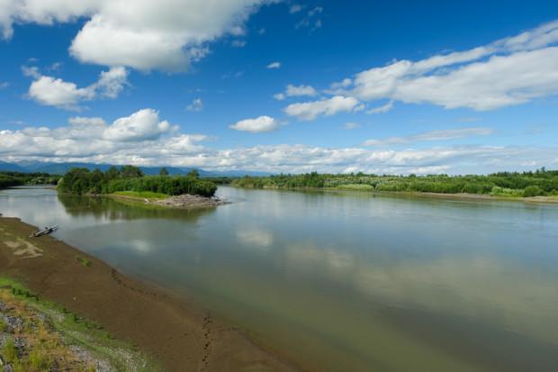 viaggio in Kamchatka fiume