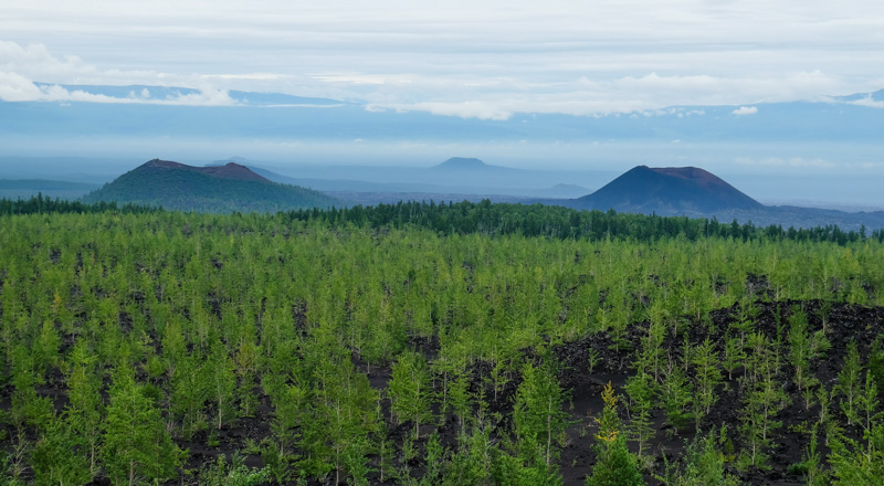 viaggio in Kamchatka panorama