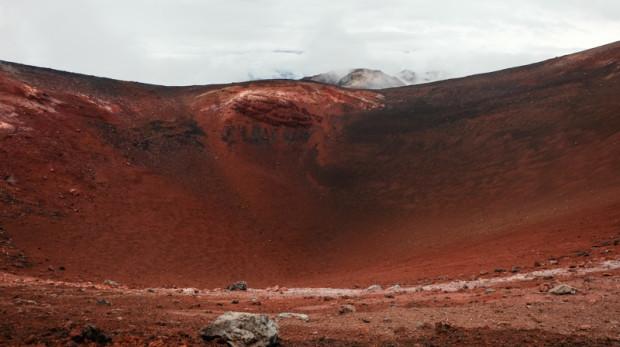 viaggio in Kamchatka cratere
