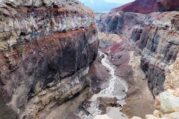 viaggio in Kamchatka canyon
