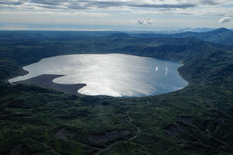 viaggio in Kamchatka lago