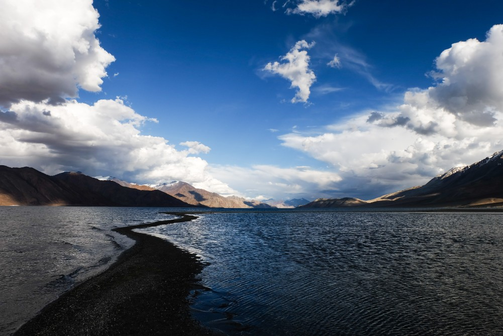 viaggio in Ladakh pangong lake