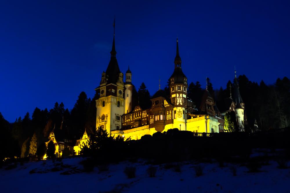 viaggio in Transilvania - castello di Peles