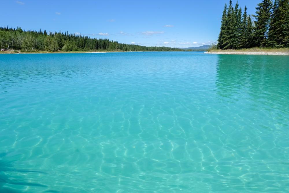 viaggio in canada boya lake