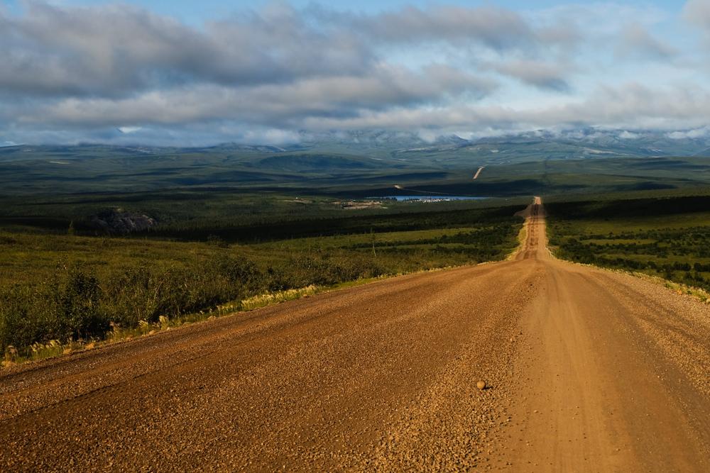 viaggio in canada dempster highway strada