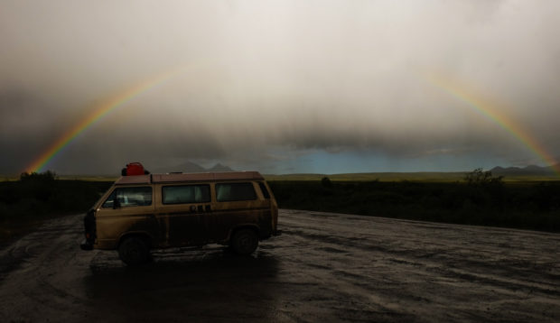 viaggio in canada dempster highway arcobaleno