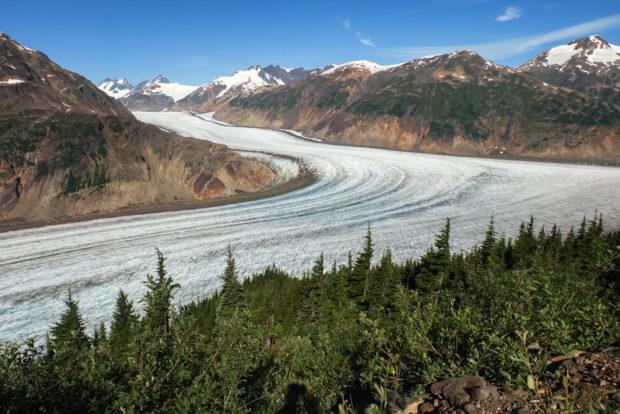 viaggio in canada salmon ghiacciaio