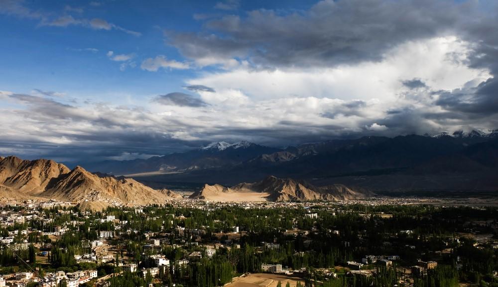 viaggio in ladakh leh panorama