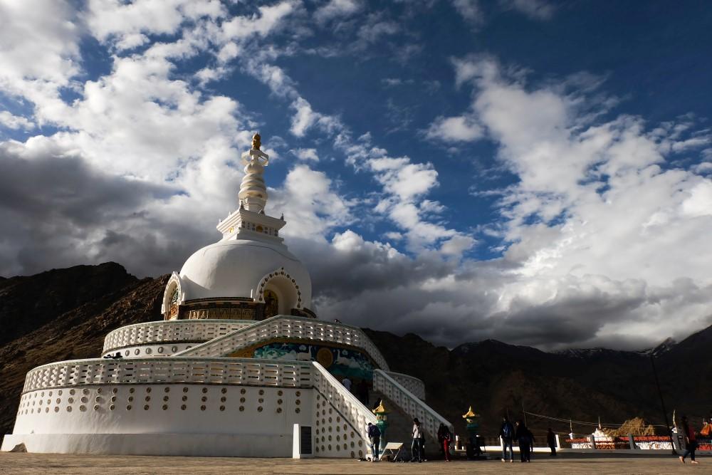 viaggio in ladakh leh stupa