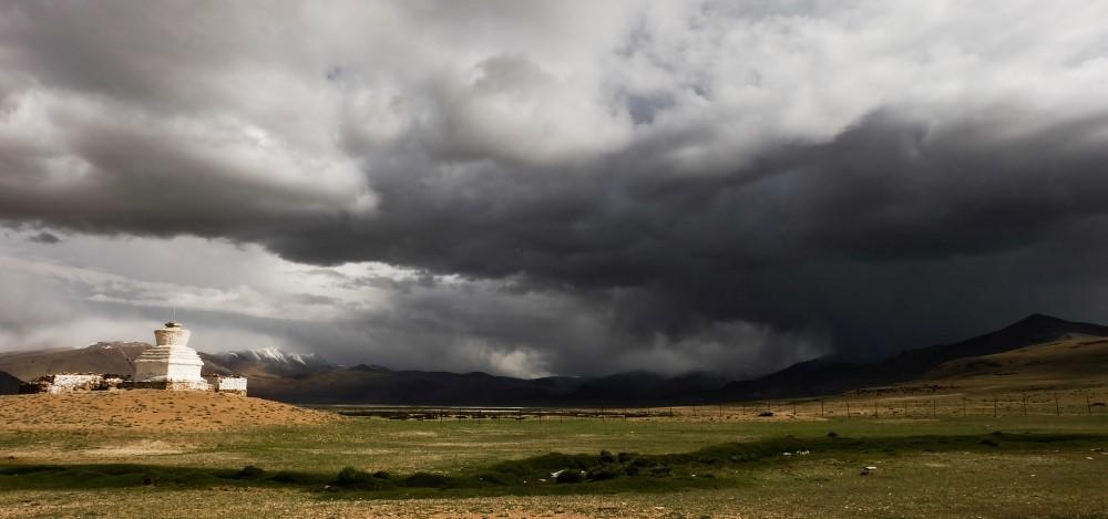 viaggio in ladakh nuvole