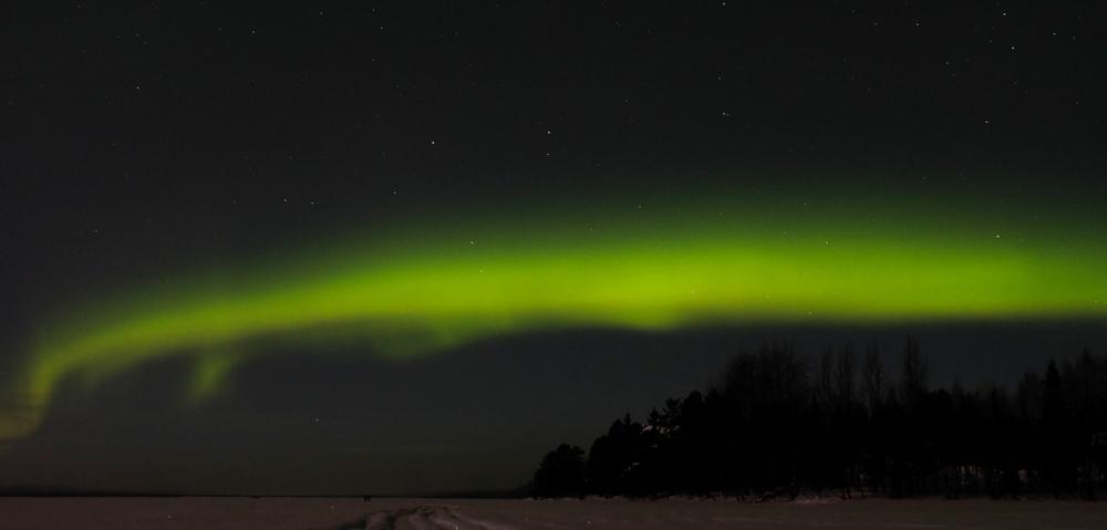 viaggio inverno lapponia aurora boreale