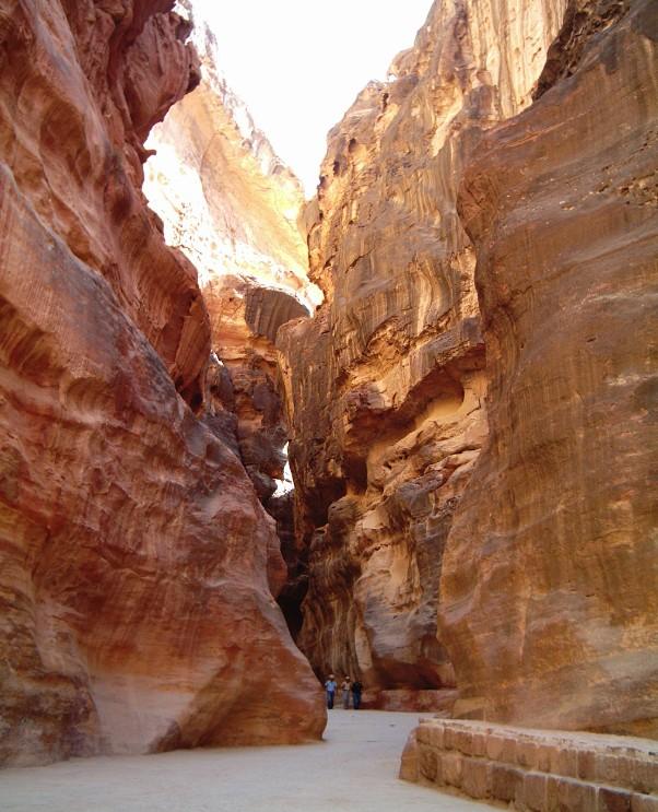 viaggio petra giordania siq