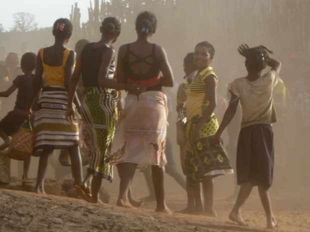 villaggio africano