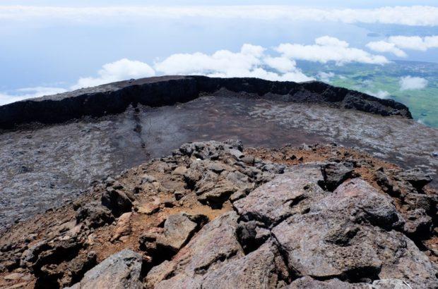 vulcano pico azzorre cima