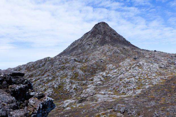 vulcano pico cima