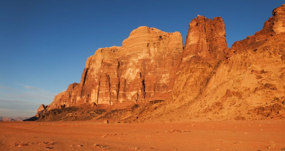 wadi rum deserto giordania tramonto blog