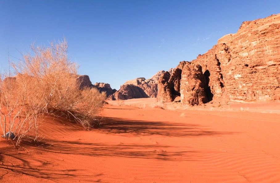 wadi rum deserto trek