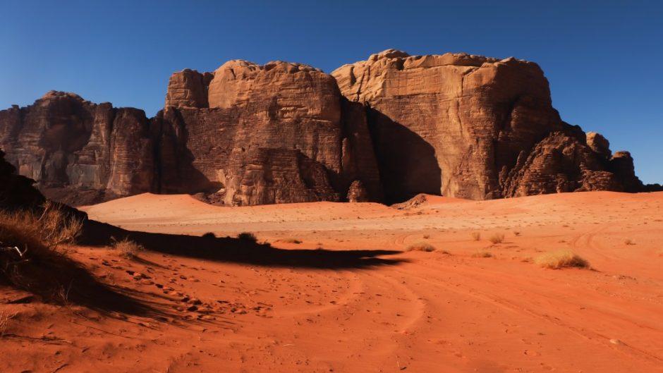 wadi rum trek deserto giordania