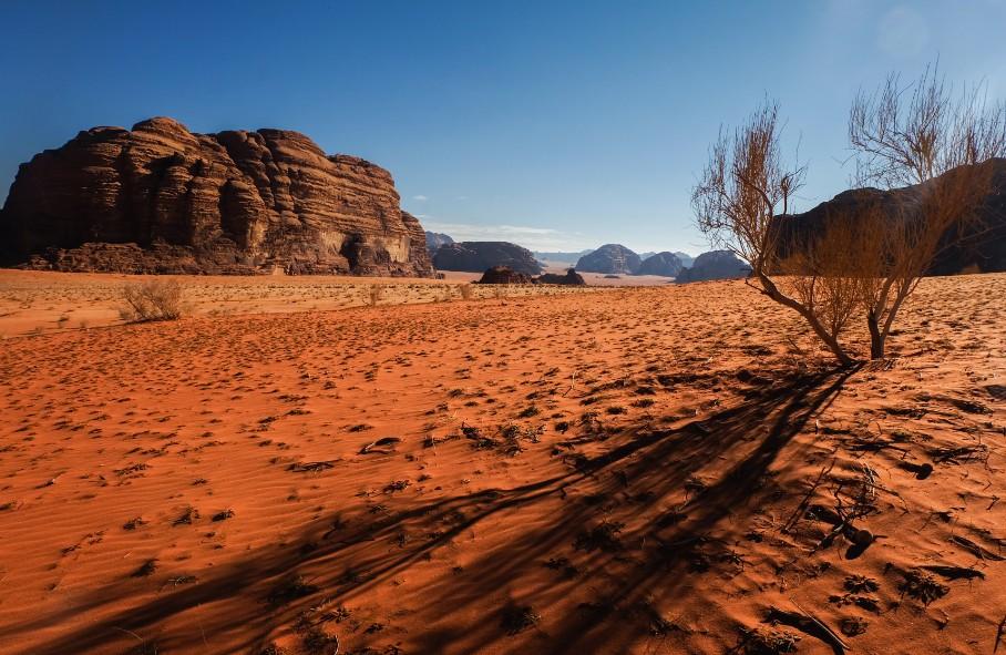 wadi rum trek deserto giordania blog